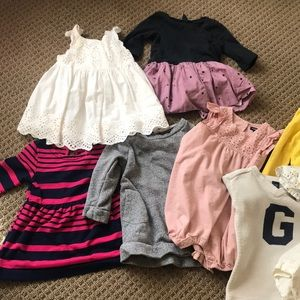 EUC - Baby Gap Fall Dresses Size 18-24 months